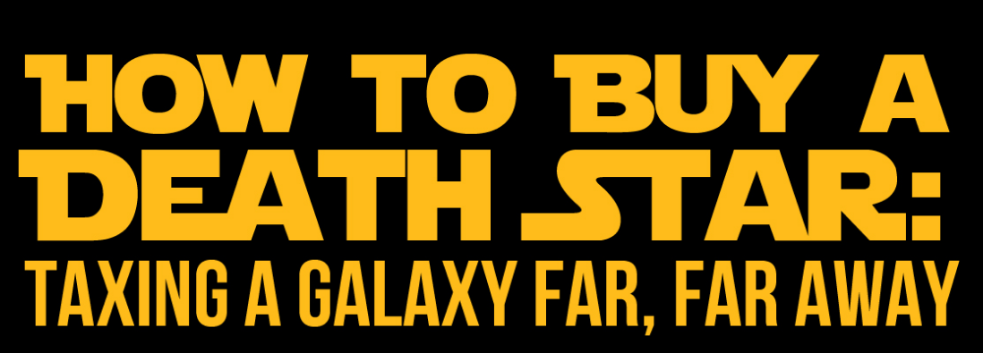 How to buy a Death Star Infographic