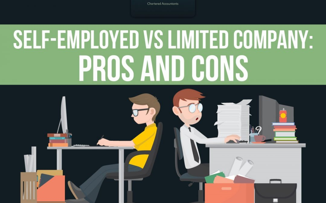 Self-Employed vs Limited Company: Which is Right for my Small Business? [Infographic]