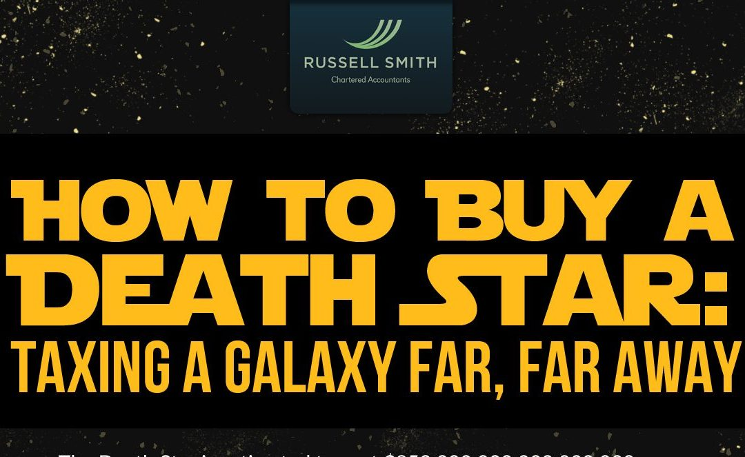 Galactic Tax Returns: How Tax Helped Build the Death Star [Infographic]